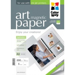 "Photo paper CW ART glossy ""magnetic"" 690g/m², A4, 5pc.  (PGA690005MA4)"