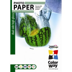 Photo paper CW dual-side high glossy 220g/m², A4, 50pc.  (PGD220050A4)