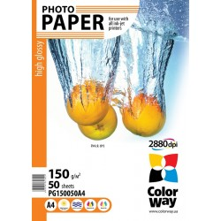 Photo paper CW high glossy 150g/m², A4, 50pc.  (PG150050A4)